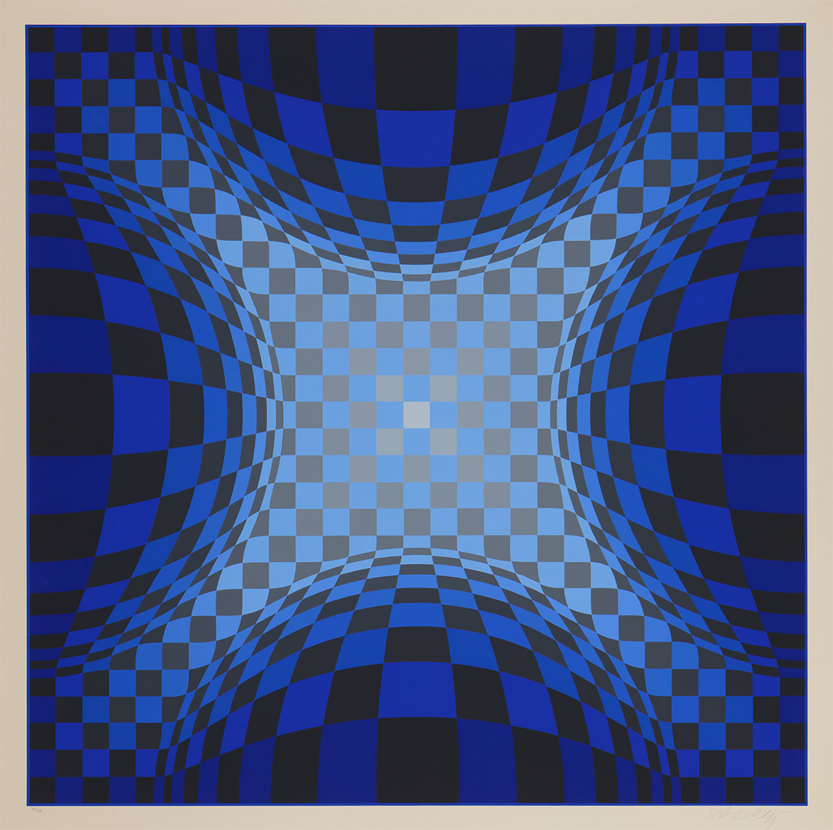 Ond-lz by Victor Vasarely