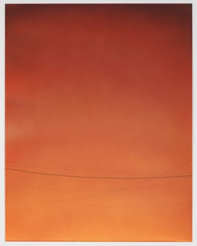 Power Line Drawing #10 by Alex Weinstein