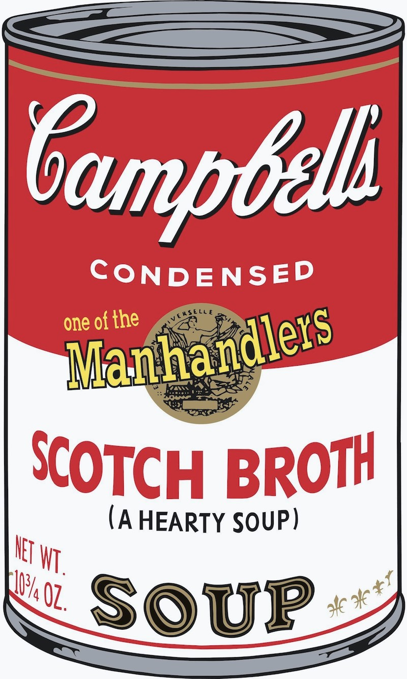 Campbell's Soup II: Scotch Broth by Andy Warhol