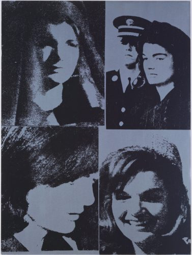 Jacqueline Kennedy III by Andy Warhol
