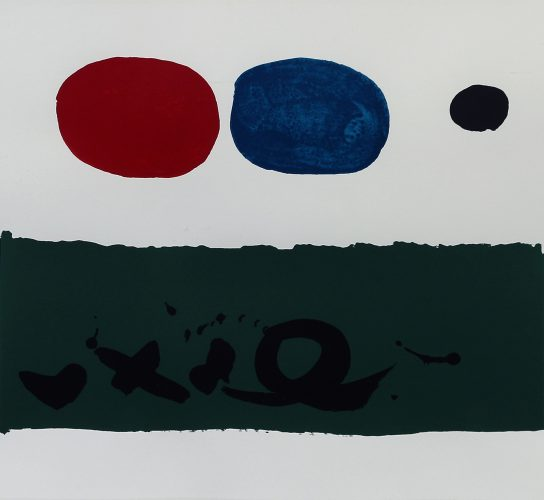 Green Foreground by Adolph Gottlieb at