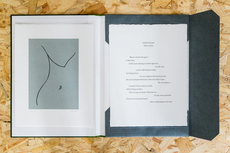 Study in Black by Gary Hume