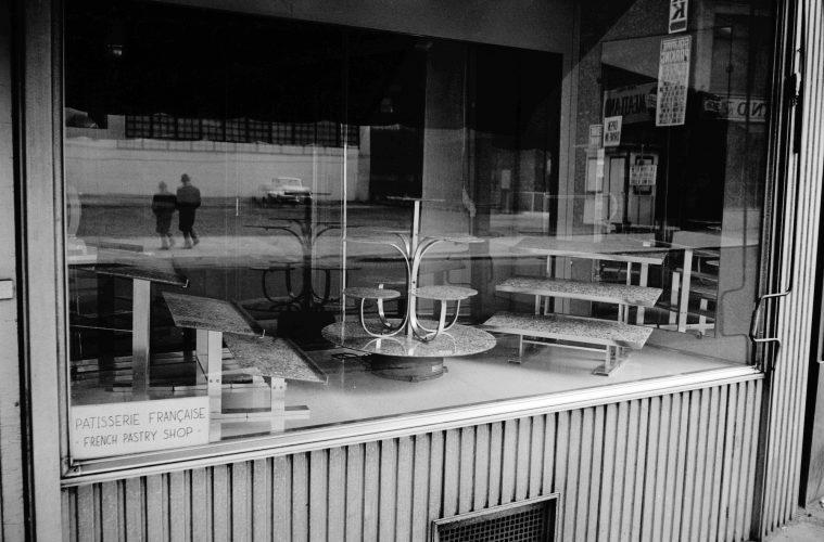 Empty New York II by Duane Michals