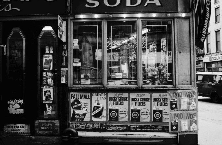 Empty New York III by Duane Michals