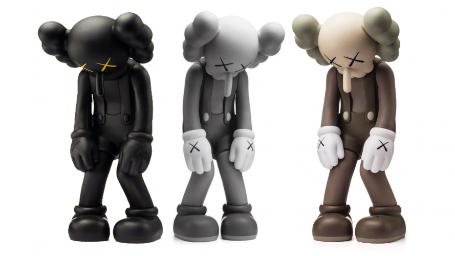 KAWS Small Lie Full Set by KAWS