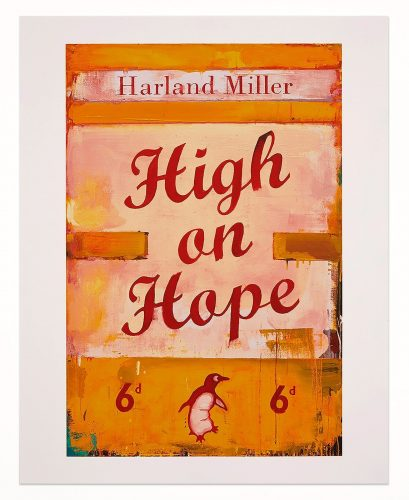 High on Hope by Harland Miller at