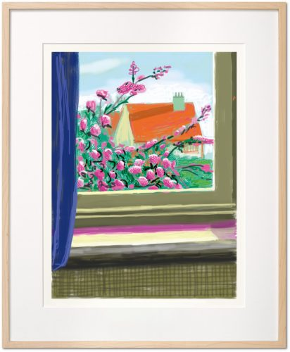 My Window, Art Edition (No. 751–1,000) 'No. 778' by David Hockney