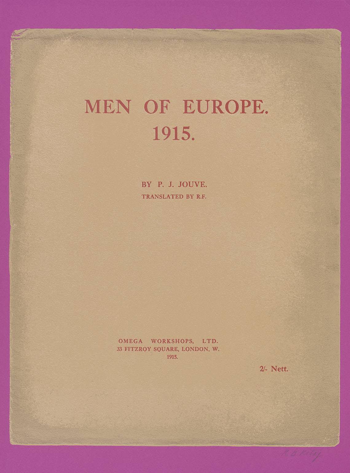 Men of Europe by R.B. Kitaj