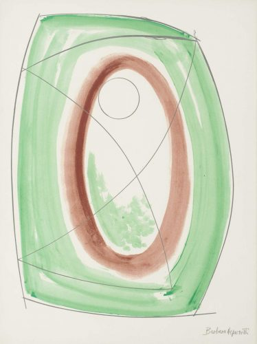 November Green by Barbara Hepworth