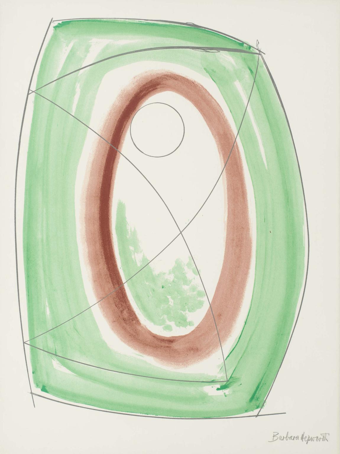 November Green by Barbara Hepworth