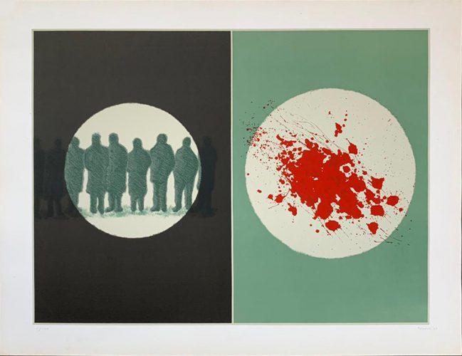 Untitled by Juan Genoves