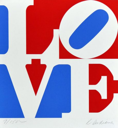 American Love by Robert Indiana