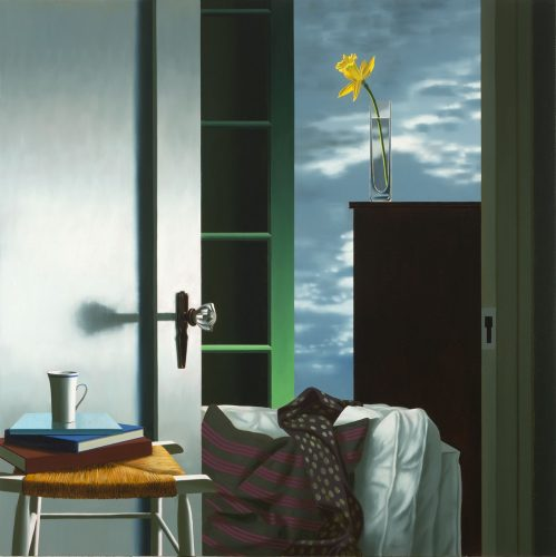 Interior with View of Buttermilk Clouds by Bruce Cohen