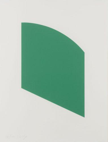 Green Curve by Ellsworth Kelly