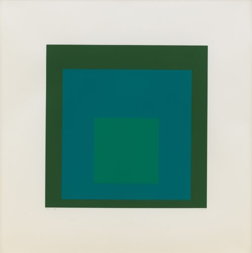 EK If by Josef Albers