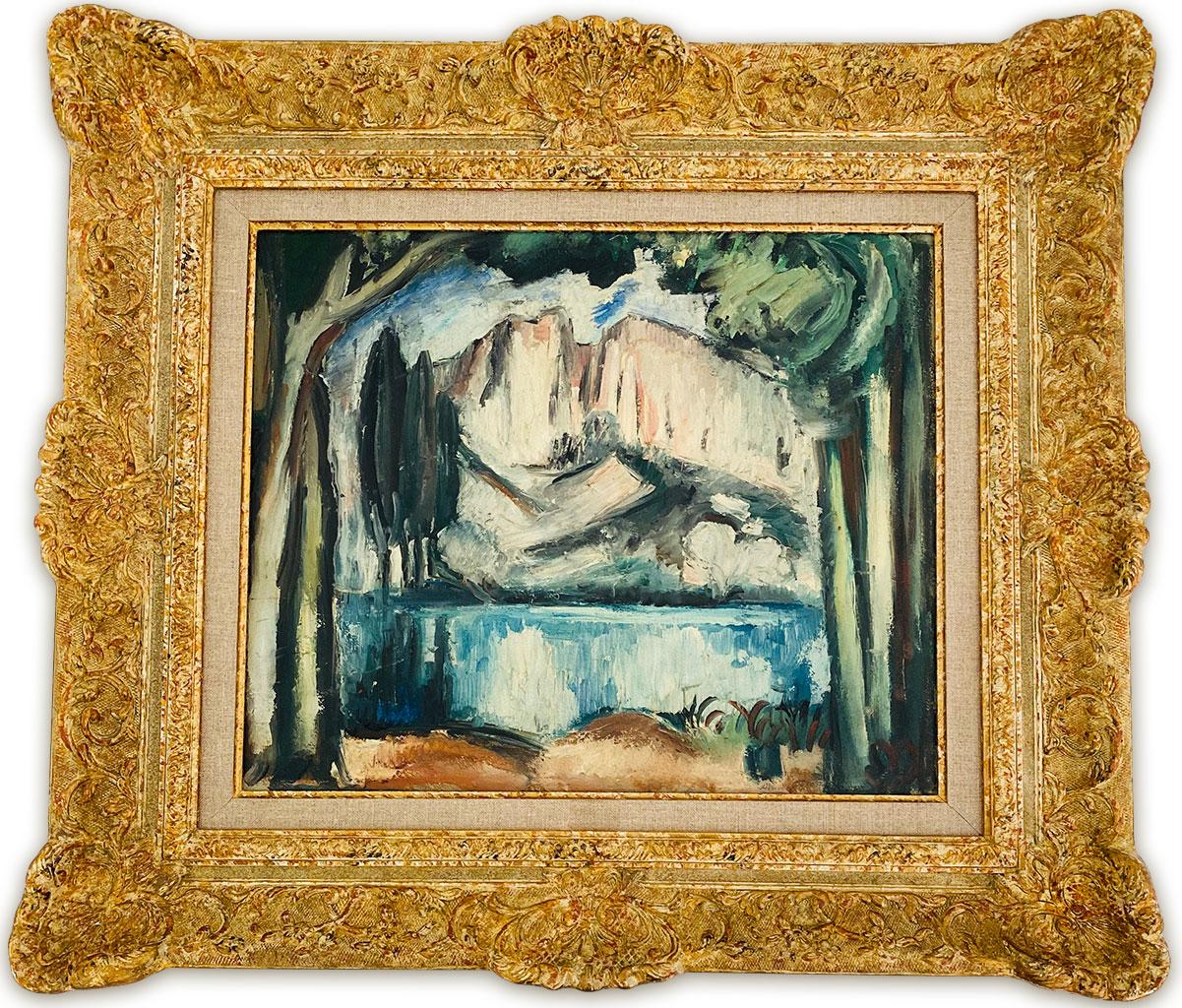 """""""Le Lac"""" (the Lake) by Achille-Emile Othon Friesz"""