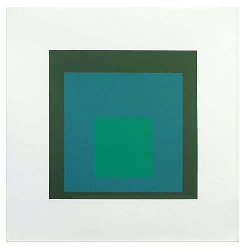 Homage to the Square: Edition Keller If, 1970 by Josef Albers