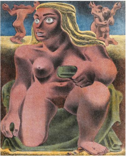 Giant Nude by Emilio Amero