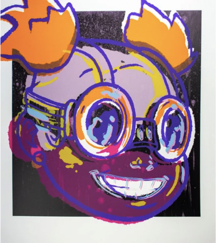 Lilac 27 by Hebru Brantley at