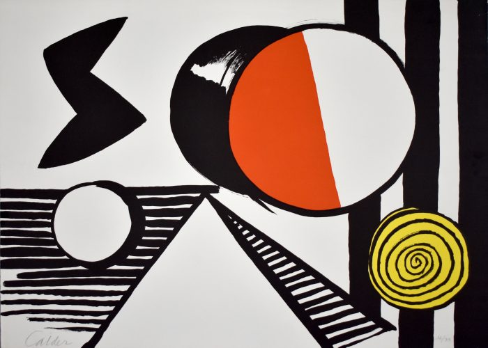 The S and the O | Le S et le O by Alexander Calder at