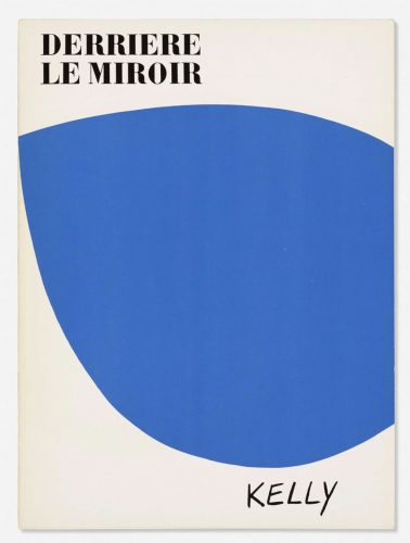 Derriere le Miroir exhibition catalogue by Ellsworth Kelly