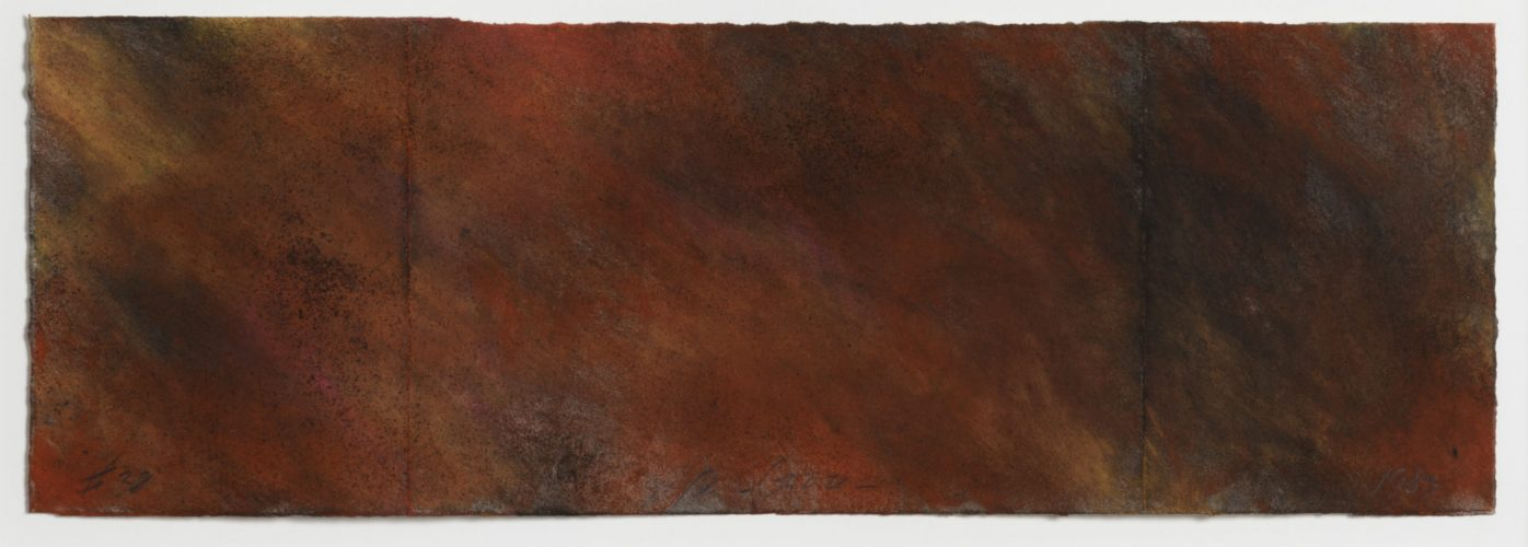 Forest Fire #38 by Joe Goode at Leslie Sacks Gallery (IFPDA)