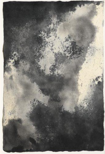 Blue Earth (Tornado Drawing #61) by Joe Goode