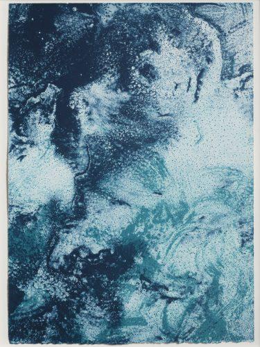 Ocean Blue 23 (Color Test Print #12) by Joe Goode