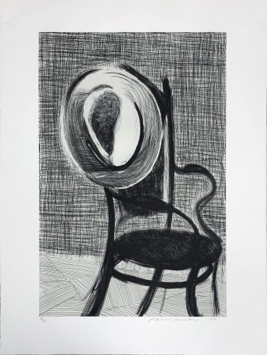 Private: Hat On Chair by David Hockney