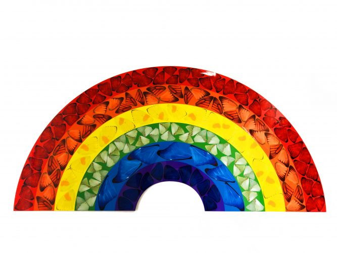 H7-1 Butterfly Rainbow (Large) by Damien Hirst