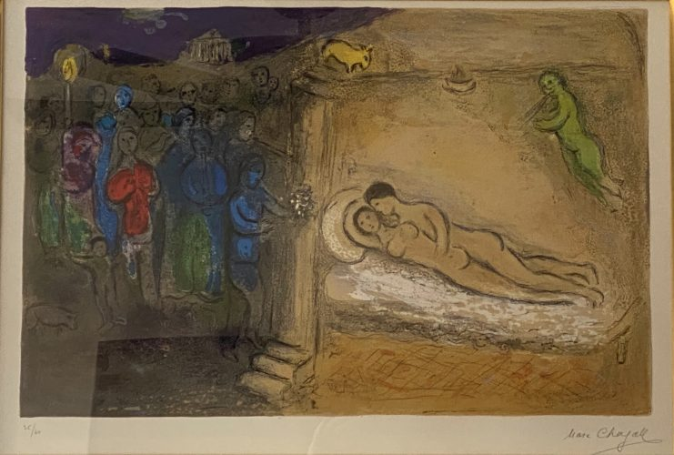 Hymen by Marc Chagall at Andrew Weiss Gallery
