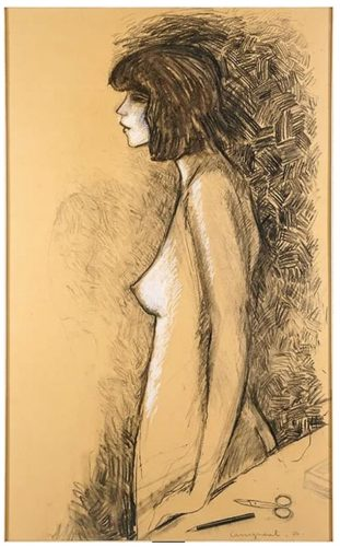 Jeune Fille Nue by Jean-Pierre Cassigneul at
