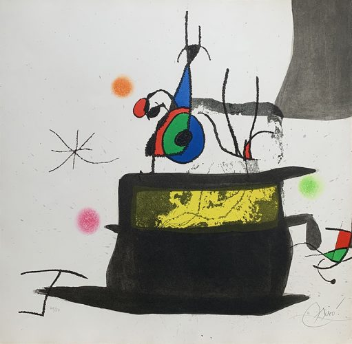 Le Carrosse d'Oiseaux by Joan Miro