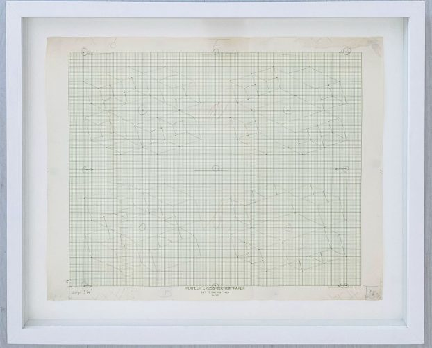 Study – Sketch for a Structural Constellation by Josef Albers