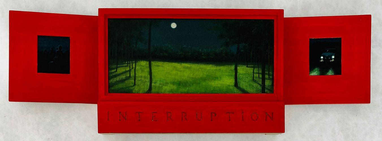 Interruption (Landscape) by Lawrence Valenza at