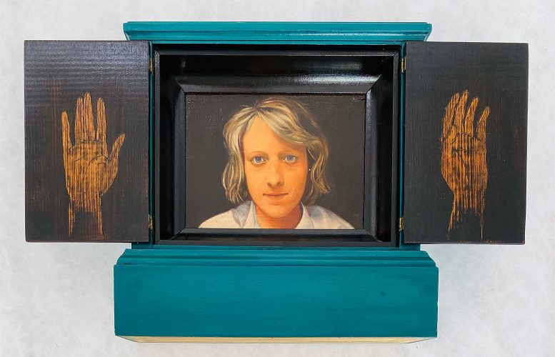 Untitled (Portrait of Ex-Girlfriend) by Lawrence Valenza at