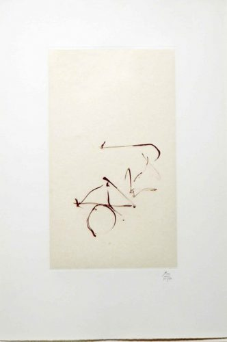 Return, from Three Poems by Octavio Paz by Robert Motherwell