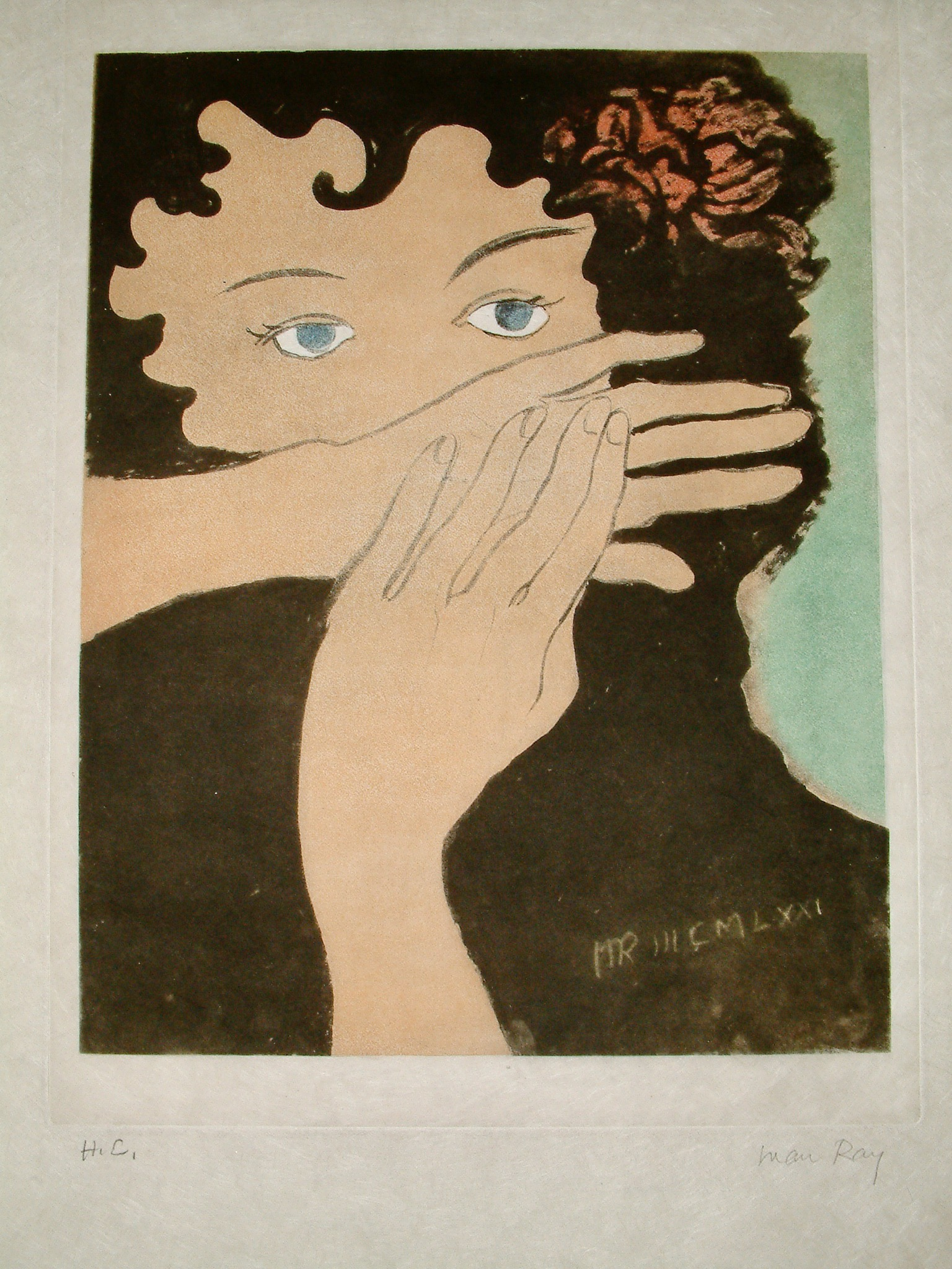 La Peur by Man Ray