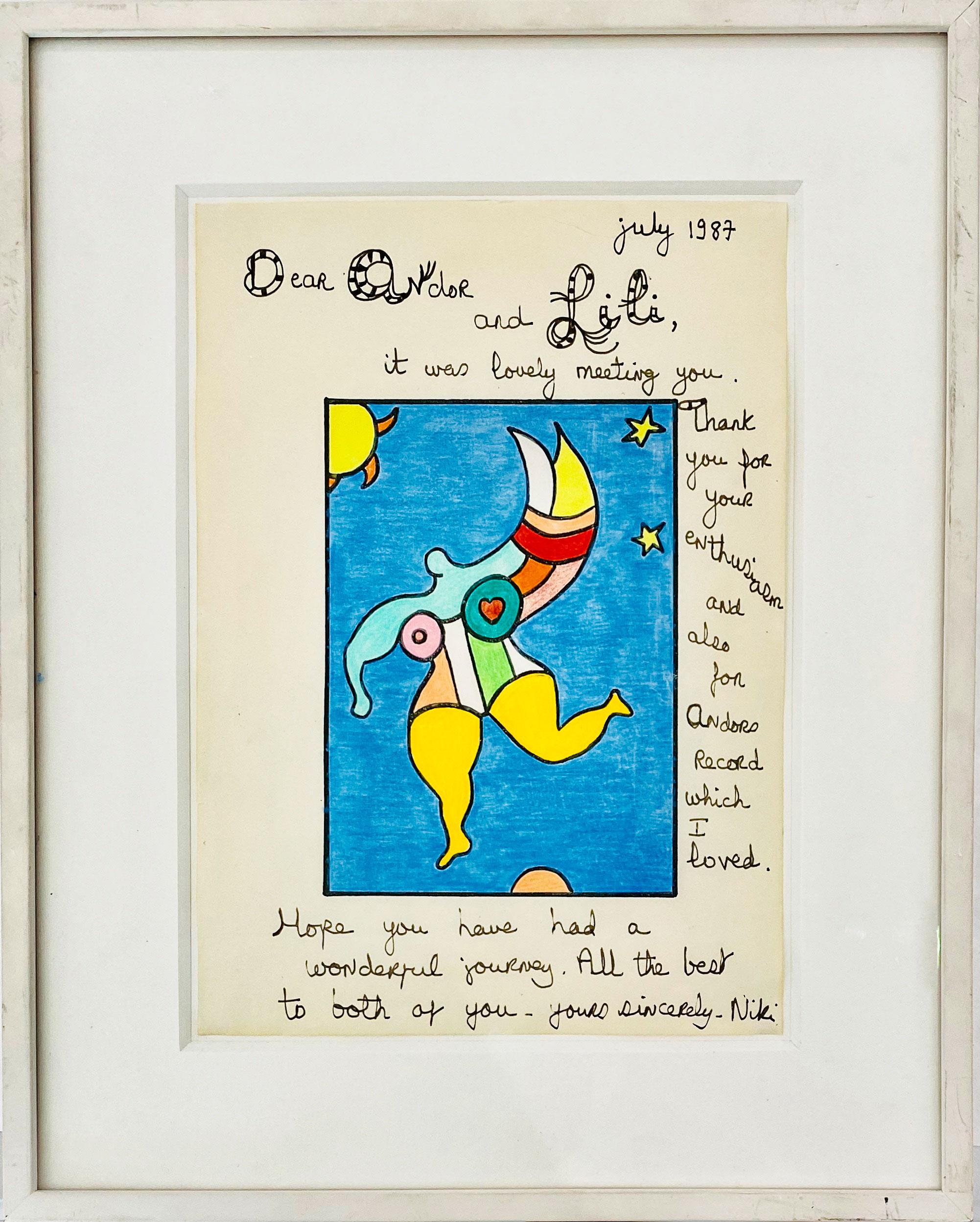 Nan Dans Le Ciel by Niki de Saint Phalle
