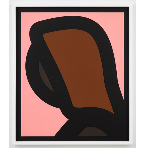 Paper Heads – 1 by Julian Opie
