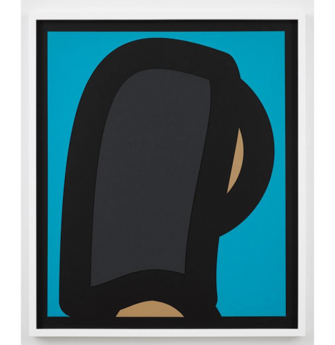 Paper Heads – 2 by Julian Opie