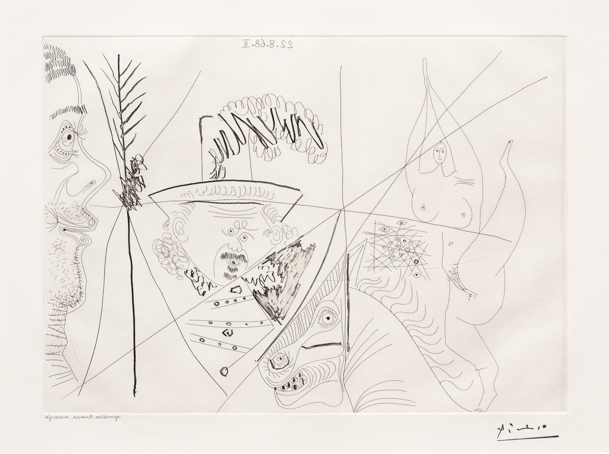 Ecuyere de Cirque…, from the 347 Series by Pablo Picasso
