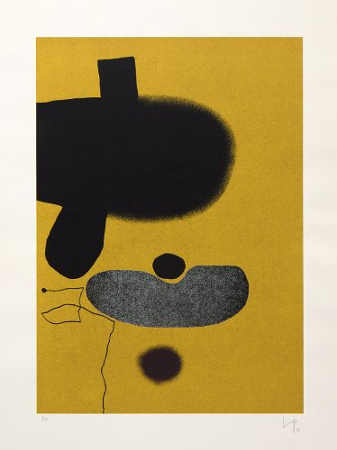 Points of Contact 20 by Victor Pasmore at