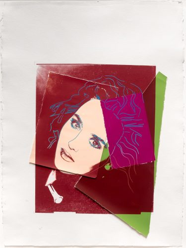 Portrait of Isabelle Adjani by Andy Warhol