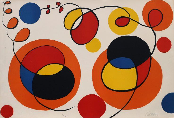Loops and Spheres by Alexander Calder