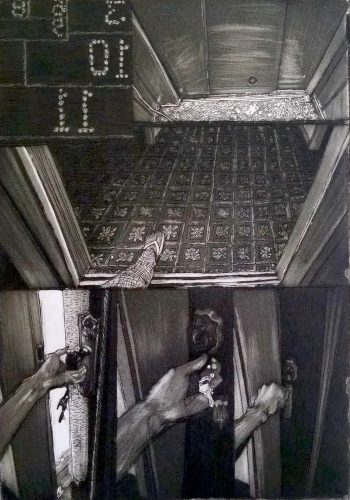Elevator by Lucas Naganuma at