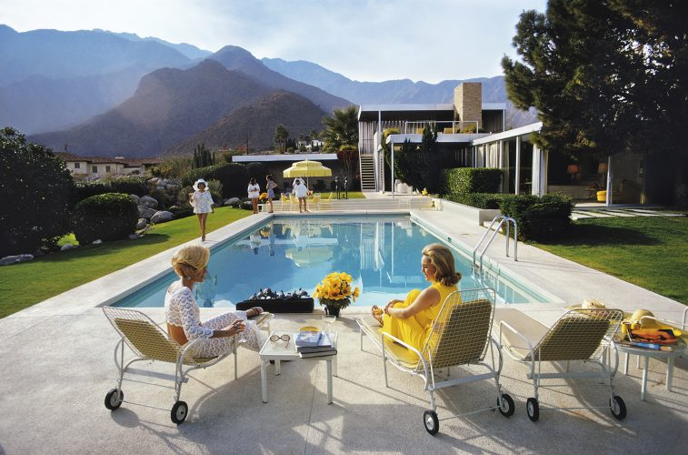 Poolside Glamour – Limited Slim Aarons Estate Edition by Slim Aarons at Galerie Prints