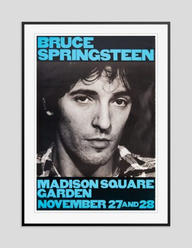 Bruce Springsteen Framed Vintage Poster 1980 * S O L D * by Unknown at Galerie Prints