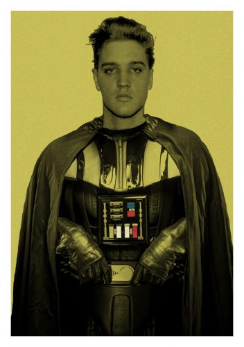 Darth Elvis by BATIK at Gallery Prints